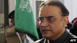 Асиф Али Зардари, президент Пакистана. Джеда, 13 августа 2012 года.