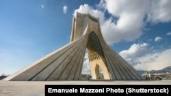Тегеран. Башня Озоди.