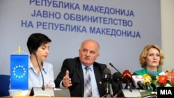 Илустрација: Прес-конференција на Јавниот обвинител Марко Зврлевски во Скопје