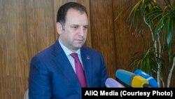 Ermənistanın yeni müdafiə naziri Vigen Sargsyan