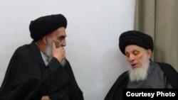 المرجعان الحكيم الى اليمني والسيستاني الى اليسار