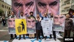 راهپیمایی روز قدس پس از روی کار آمدن جمهوری اسلامی، هر سال و در آخرین جمعه ماه رمضان، در سراسر ایران برگزار میشود.