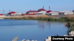 Zabrat gölü. Foto: Virtualaz.