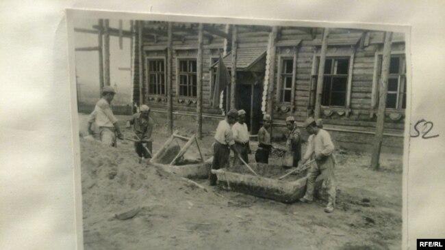 Лагерь для японских военнопленных. Российский государственный военный архив