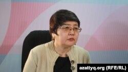 Председатель «Фонда развития парламентаризма в Казахстане» Зауреш Батталова. Астана, 28 декабря 2016 года.
