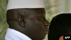 یحیی جامع، رئیس جمهور گامبیا، در سفر او به تهران