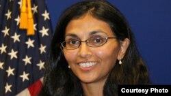 ABŞ-nyň döwlet sekretarynyň Günorta we Merkezi Aziýa meseleleri boýunça maslahatçysy Nişa Desai Biswal