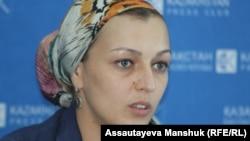 Марина Джегуш. Алматы, 11 қыркүйек 2013 жыл.