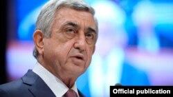 Ermənistan prezidenti Serj Sarkisyan