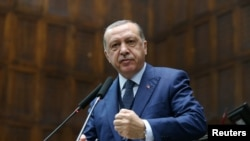 Туркия президенти Режаб Тоййип Эрдўғон.
