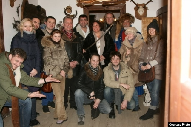 «Тэатар Ч» у Музэі Адама Міцкевіча ў Завосьсі