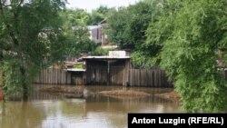 Благовещенск. Затопленная улица
