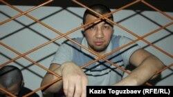 Болатбек Нұрғалиев сот отырысында. Алматы, 4 маусым 2019 жыл.