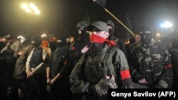 Craig Lang reportedly fought in Ukraine with a militant group called, Right Sector. (file photo)