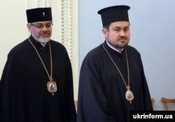 Экзархи Вселенского патриарха в декабре провели первое богослужение в Андреевской церкви