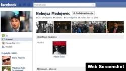Fejsbuk profil Nebojše Medojevića
