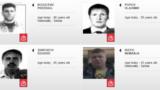 Çernogoriýada agdarylyşyk synanyşygyna gatnaşykda güman edilýänleriň Interpol tarapyndan çap edilen surat, 2016