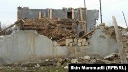 Снесенная мечеть в Агджабеди