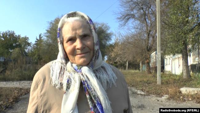 Жительница Славяносербска