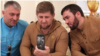 Глава Чечни Рамзан Кадыров (в центре) со своим YotaPhone