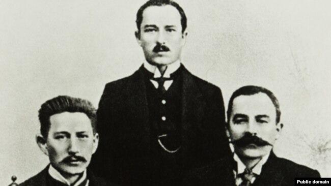 Браты Луцкевічы і Аляксандар Уласаў