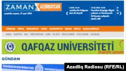 "Сайтгазеты ""Заман-Азербайджан"""