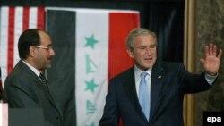 Джордж Буш и Нури аль-Малики, Иордания