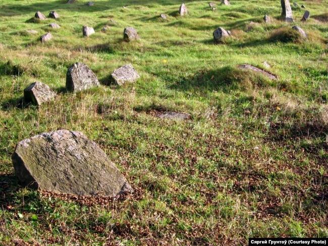 Шарашова, габрэйскія могілкі
