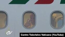 Povratak Pape u Vatikan