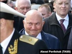 Лужков у Севастополі на відзначенні 22-ї річниці Чорноморського ВМФ Росії, 11 травня 2008 року