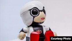 Uşaqsız ailələr üçün yaradılmış robot - Kirobo Mini
