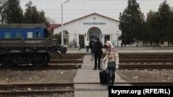 Залізничний вокзал у Новоолексіївці