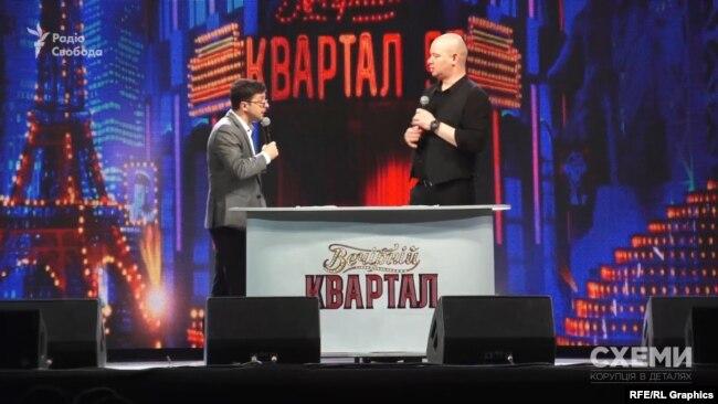 У час, коли мали відбуватися теледебати на Суспільному, Володимир Зеленський проводив концерт у місті Бровари під Києвом