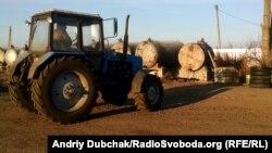 Заправка сільгосптехніки, Вінницька область, листопад 2014 року