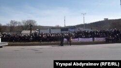 Жалал-Абаддагы митинг, 6-март.