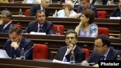 Члены специальной комиссии по конституционным реформам в парламенте, Ереван, 4 сентября 2015թ г