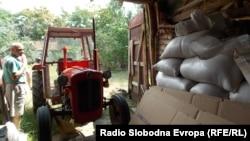 Драги Стефановски, земјоделец од село Гермијан.