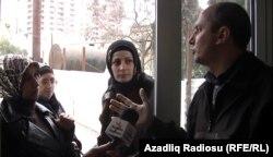 Azərbaycanda məktəbə hicabla buraxılmayan qızlar, 9 dekabr 2010