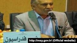 احمد ناطق نوری رئیس فدراسیون بوکس