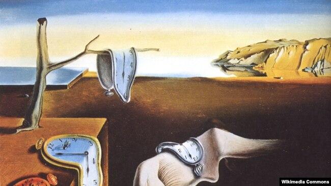 """""""Постоянство памяти"""", 1931 год, одна из самых известных работ Сальвадора Дали"""