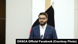 حمدالله محب مشاور امنیت ملی رئیس جمهور افغانستان، ۲۹ اکتوبر ۲۰۱۹