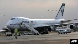 بوئینگ «زمینگیر» شده ایران ایر