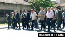 Obilježavanje stradanja vojnika JNA, Tuzla, 15. maj 2013.