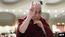 Далай-лама під час молитовного сніданку, Вашингтон, 5 лютого 2015 року