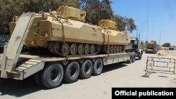 ادوات نظامی نیروهای دولتی سوریه در حلب