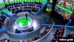 """Студия программы """"Место встречи"""", выходящей на российском телеканале НТВ. Иллюстрационное фото"""