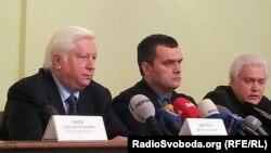 Віктор Пшонка й Олександр Захарченко