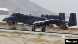 Pamje e një aeroplani ushtarak amerikan
