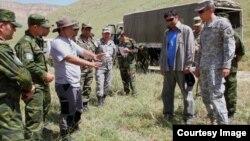 США помогают Таджикистану не только в борьбе с терроризмом, но и в расчистке от мин