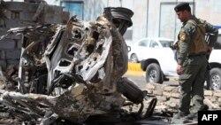 Наступного дня після вибухів у центрі Багдада, фото 15 березня 2013 року